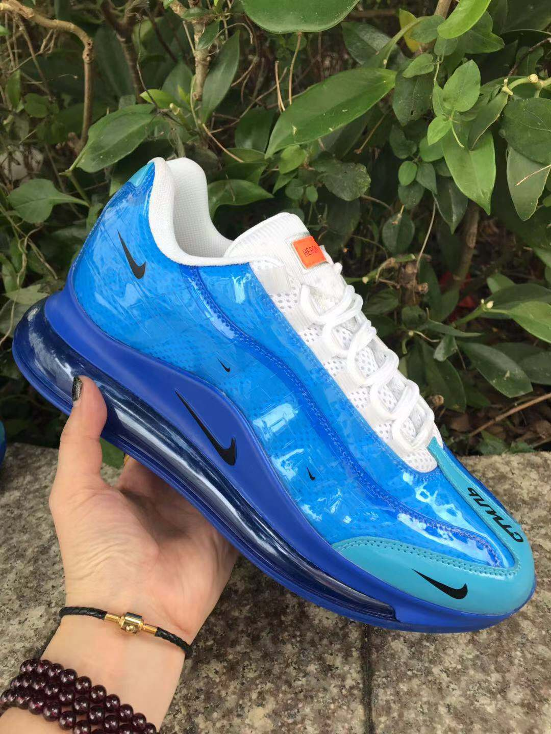 2020 Women Nike Air Max 720 95 Blue White
