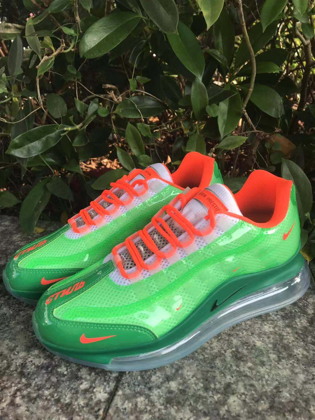 2020 Nike Air Max 720 95 Green Red