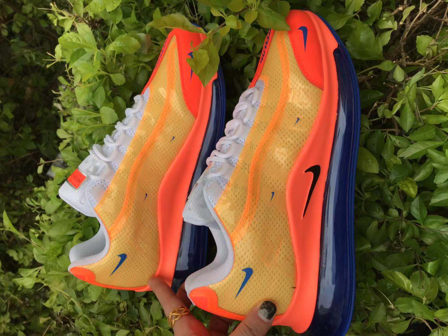 2020 Nike Air Max 720 95 Yellow Orange Blue