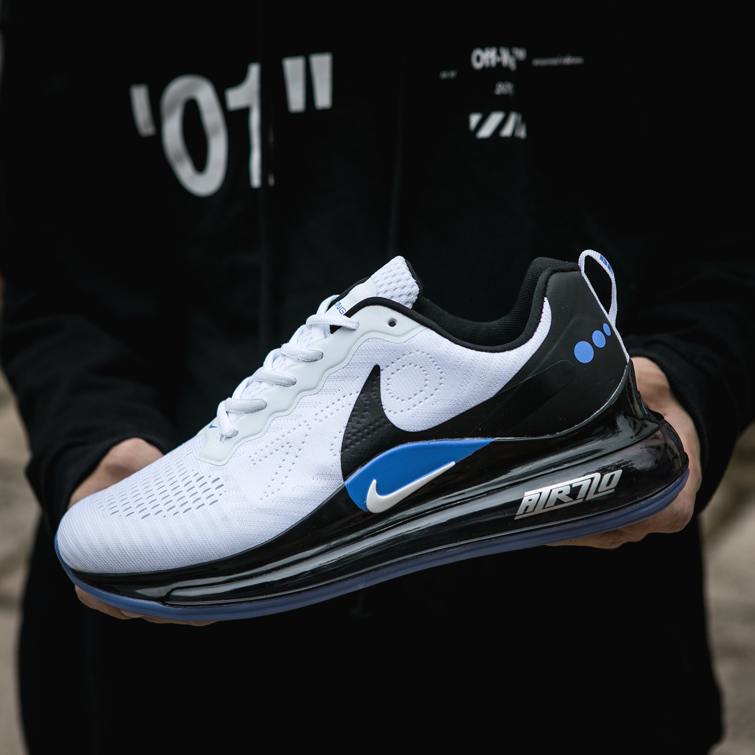 2020 Nike Air Max 720 White Black Jade