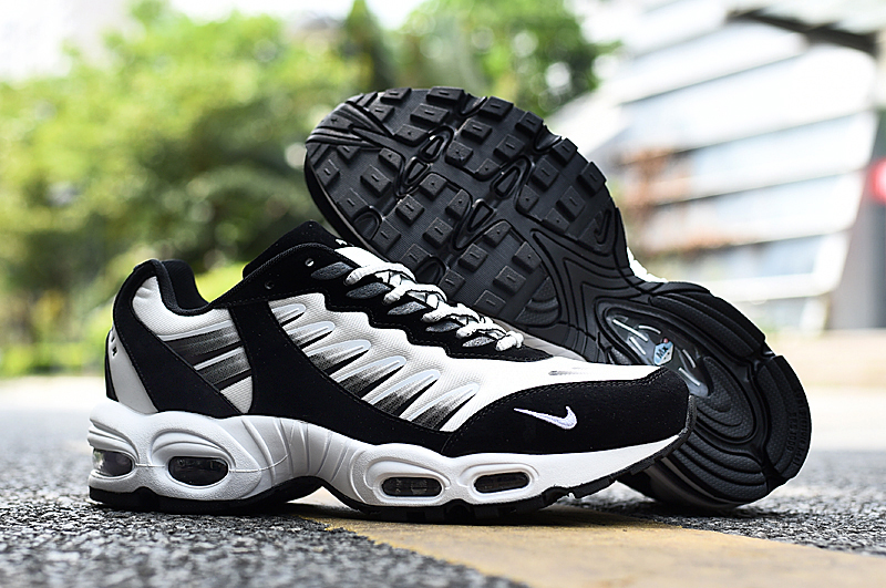 2020 Nike Air Max TN-5 Air World White Black