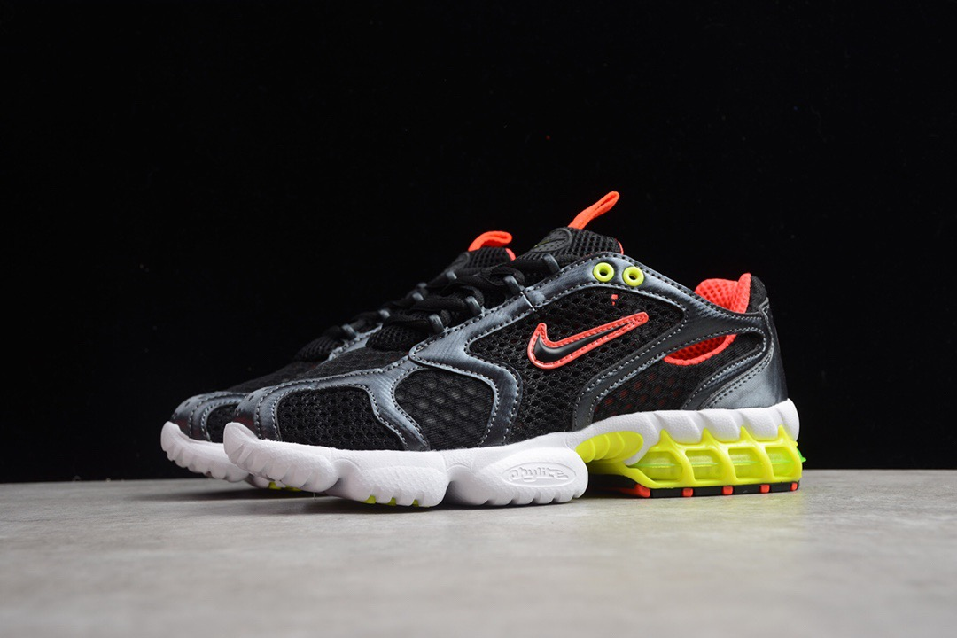 2020 Nike Zoom Spiridon Caged 2 Black Red Yellow For Women