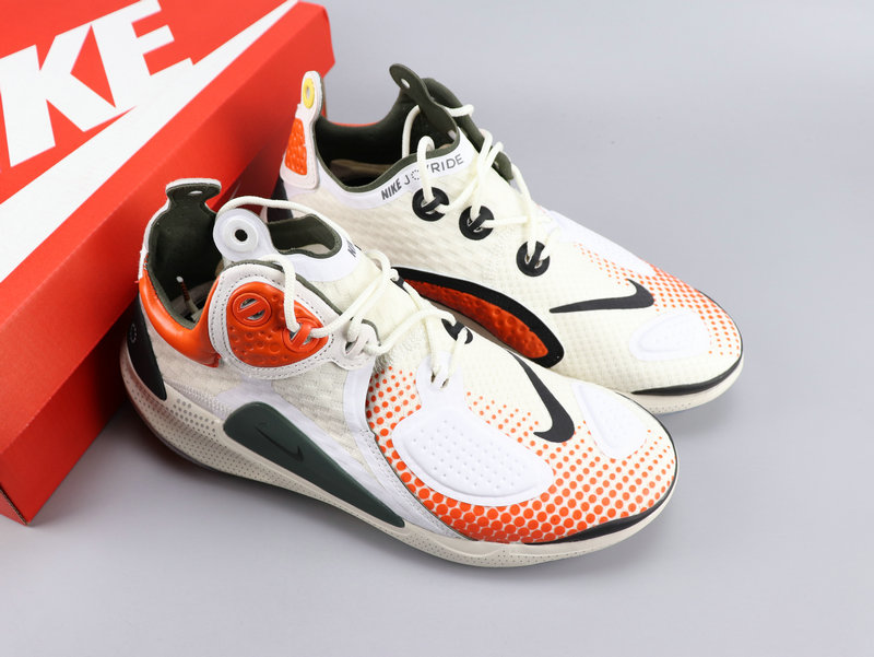 2020 Nike Joyride CC3 Setter White Orange Black For Women
