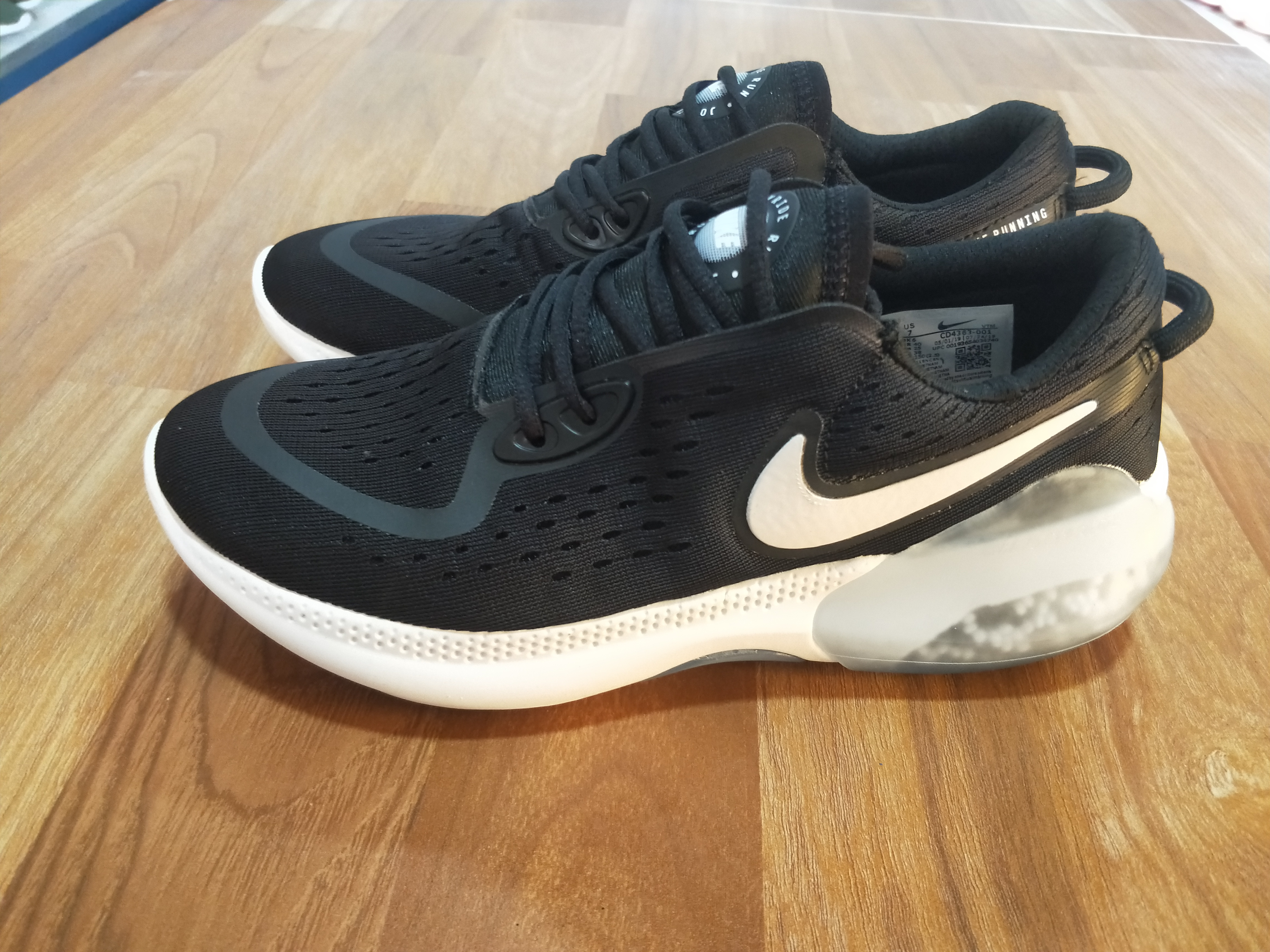2020 Nike Joyride Run FK Black White For Women