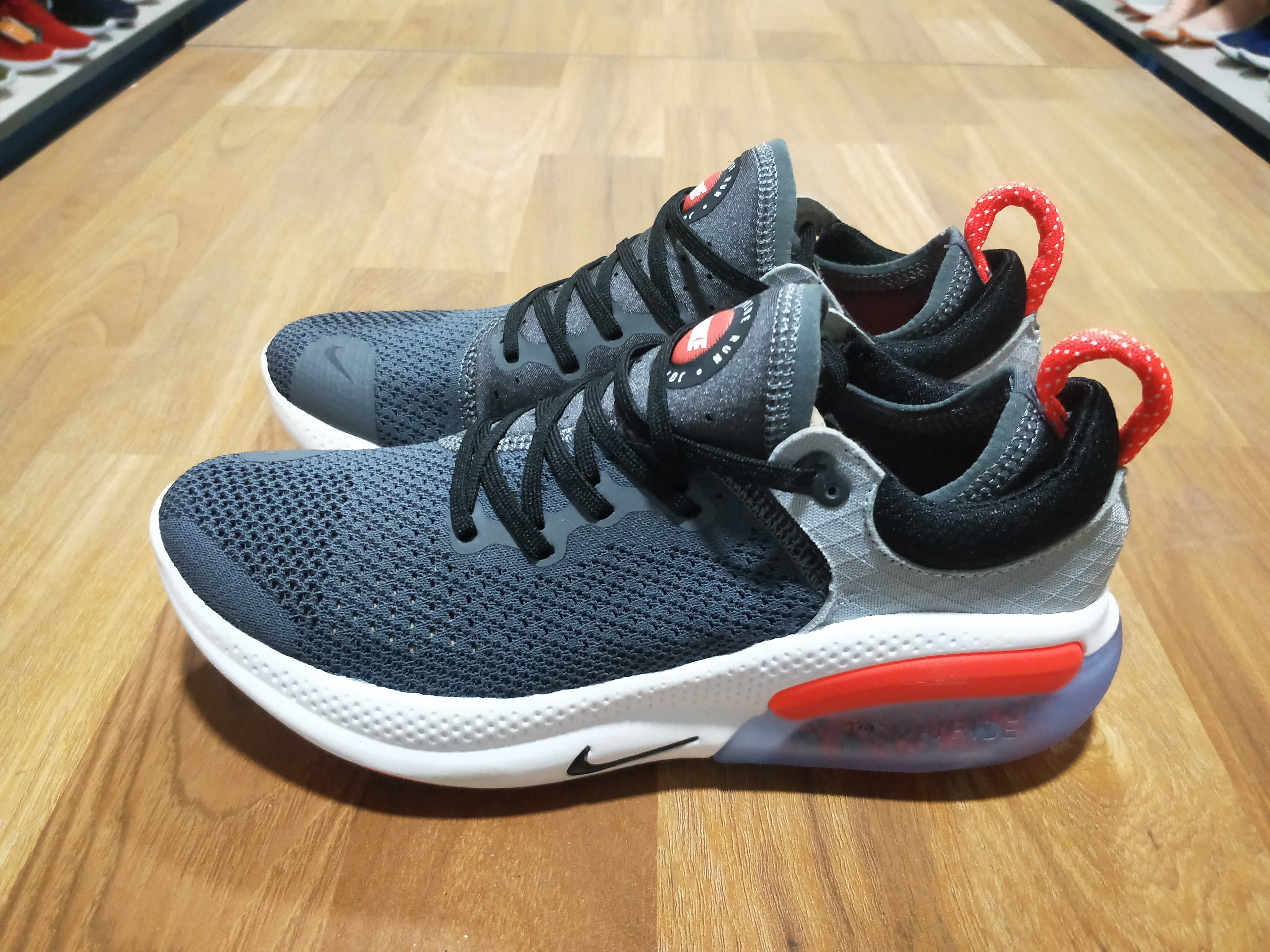2020 Nike Joyride Run FK Grey Black Red For Women