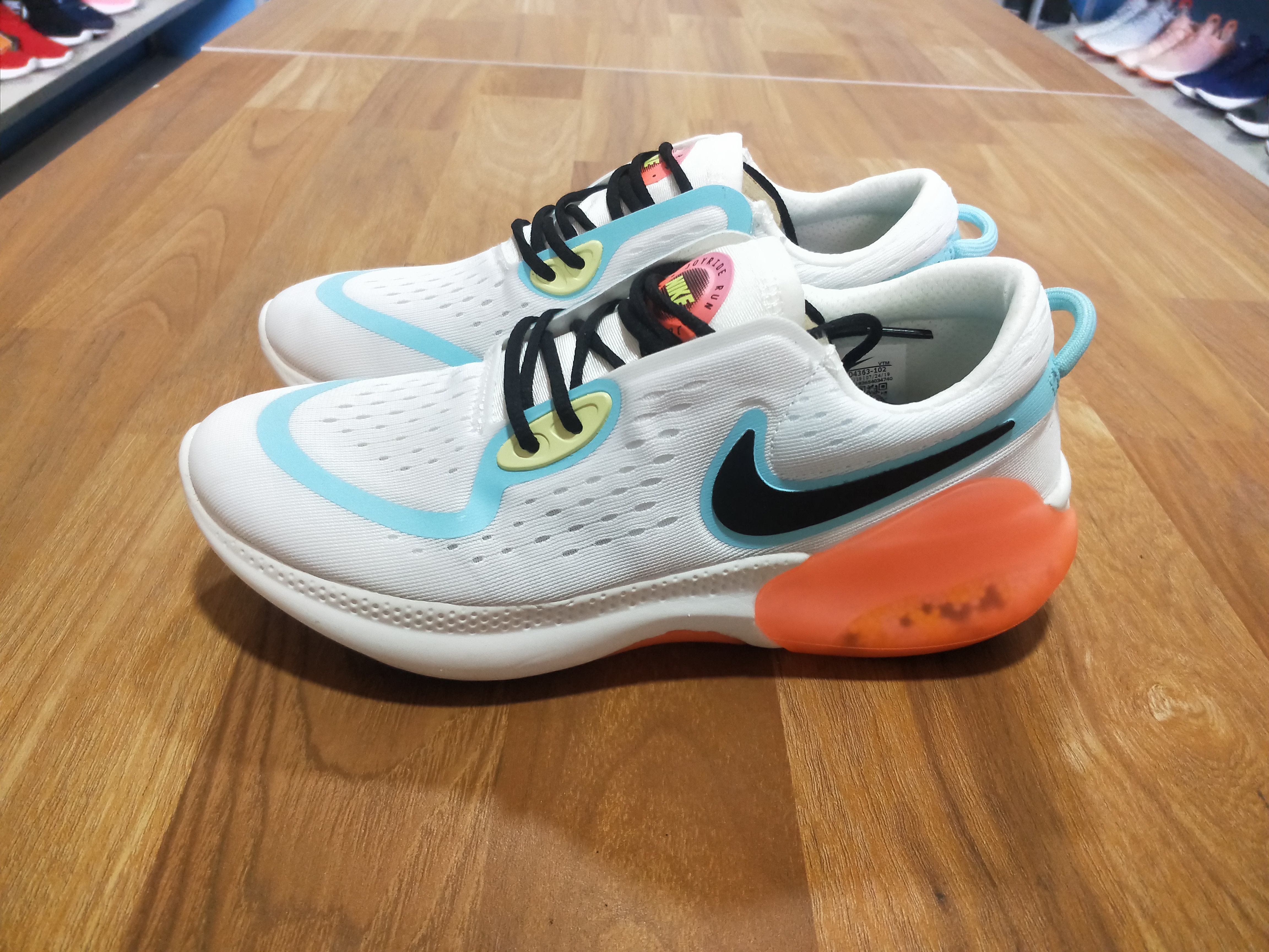 2020 Nike Joyride Run FK White Jade Blue Black Orange For Women