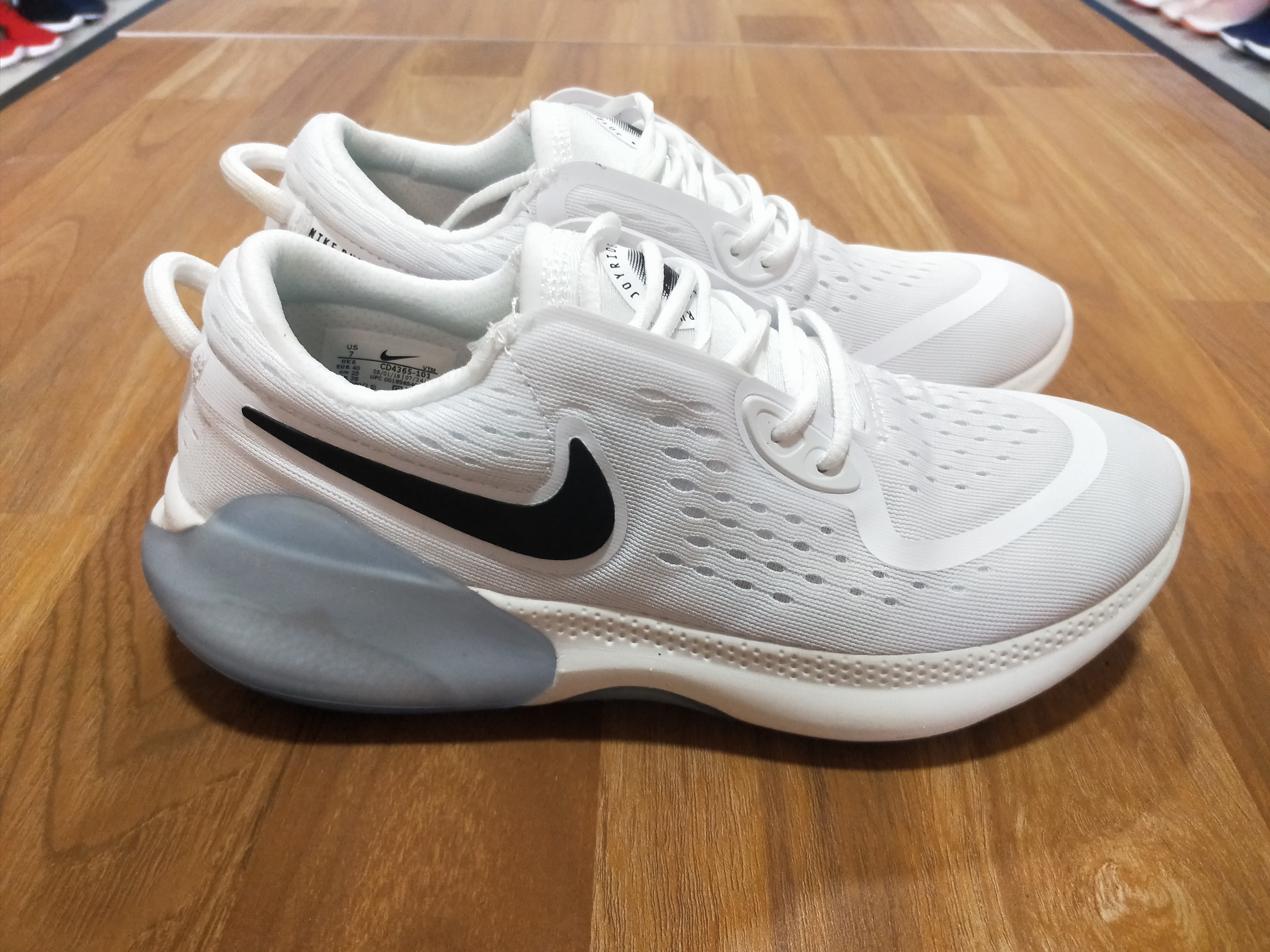 2020 Nike Joyride Run FK White For Women