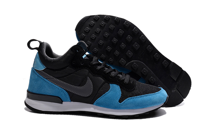 Nike 2015 Archive Black Blue Women Shoes