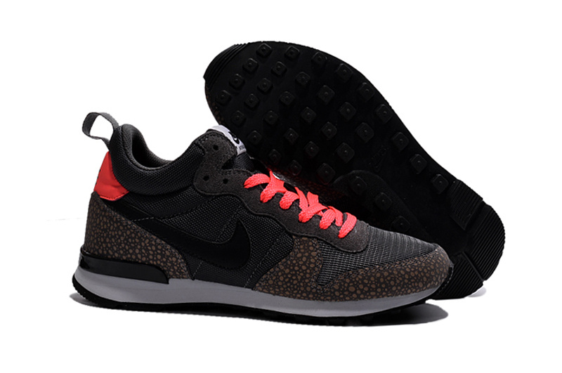Nike 2015 Archive Black Brown Reddish Orange Shoes