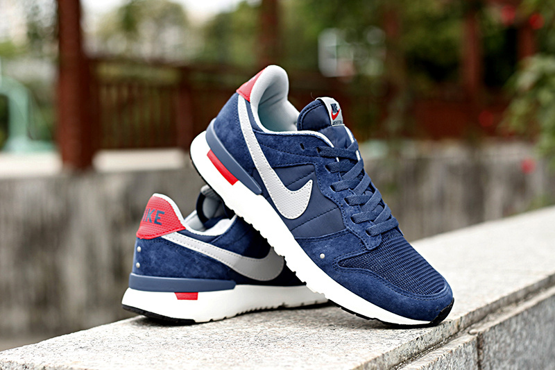 Nike 2015 Archive Blue Red White Shoes