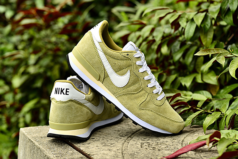 Nike 2015 Archive Green White Shoes