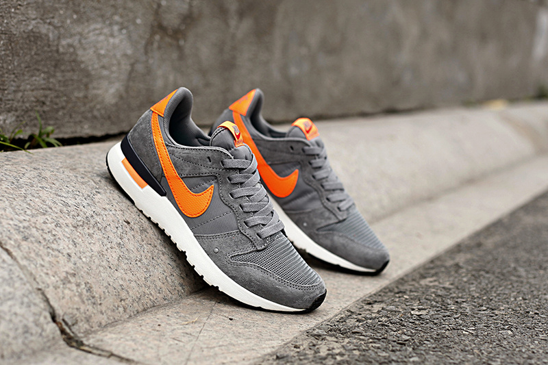 Nike 2015 Archive Grey Orange Shoes