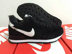 Nike 2015 Archive Wool Black Women Shoes