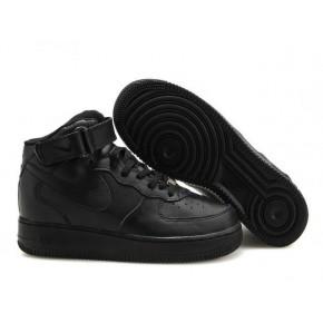 Nike Air Force 1 High All Black Shoes