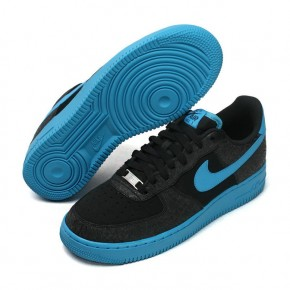 Nike Air Force 1 Low Black Blue Shoes