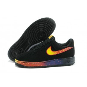 Nike Air Force 1 Low Black Colorful Shoes