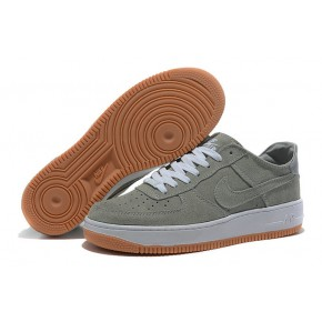 Nike Air Force 1 Low Grey White Yellow Shoes