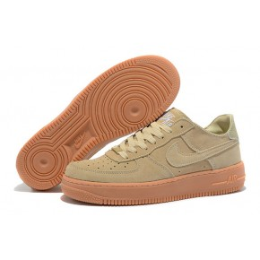 Nike Air Force 1 Low Light Gold Yellow Shoes