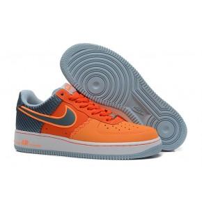 Nike Air Force 1 Low Orange Grey Shoes