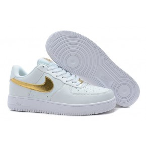 Nike Air Force 1 Low White Gold Shoes