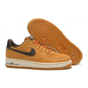 Nike Air Force 1 Low Yellow Black Shoes