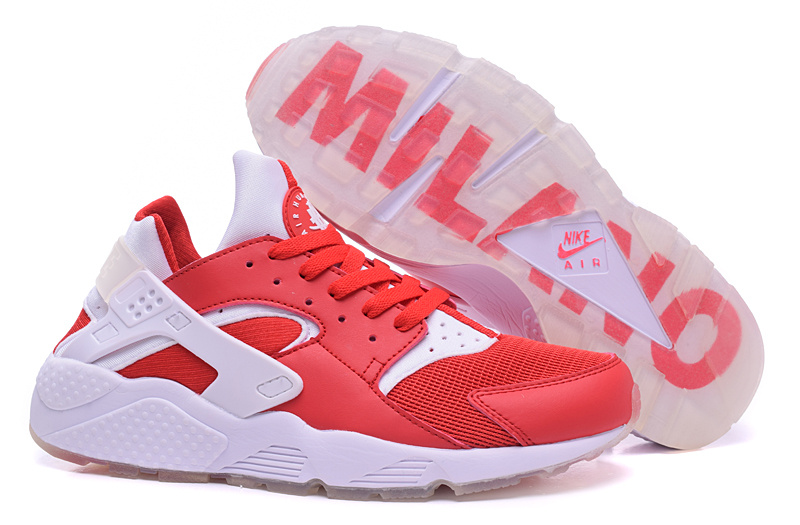 Nike Air Huarach Milano Red White Shoes