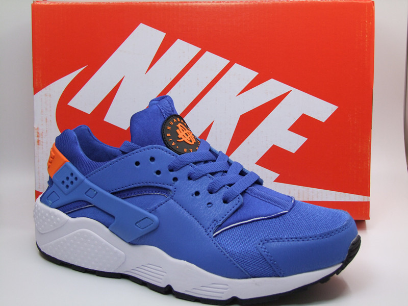 Nike Air Huarache 1 All Blue Orange Shoes