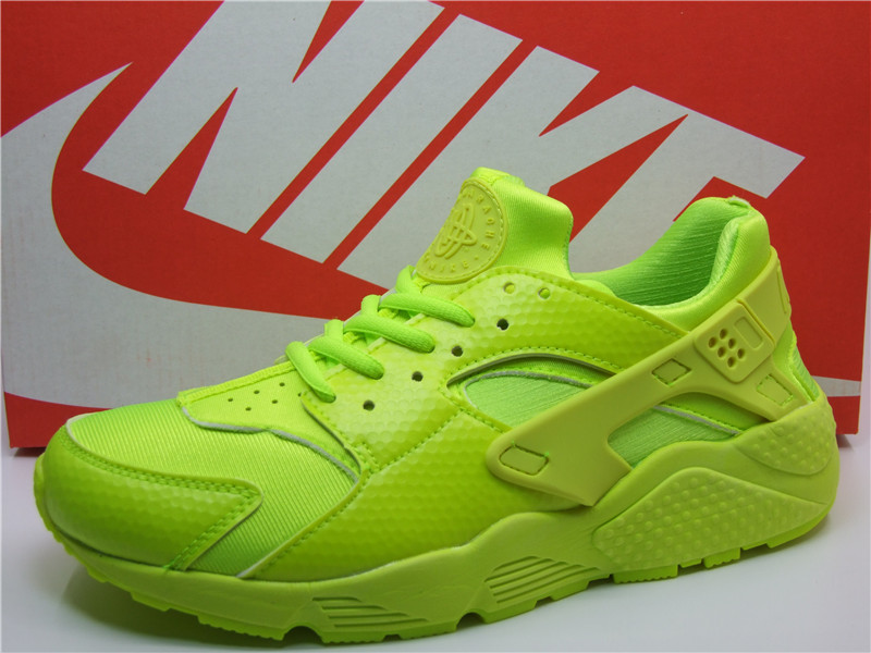 Nike Air Huarache 1 All Fluorscent Green Shoes