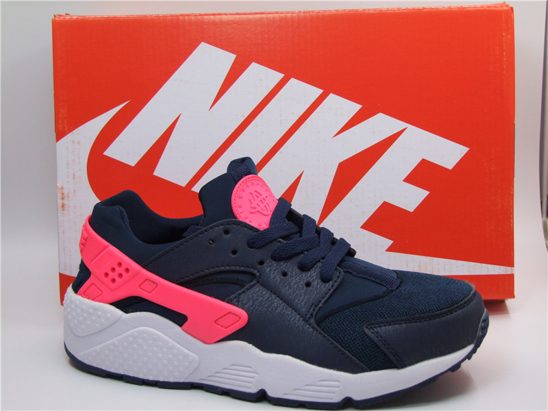 Nike Air Huarache 1 Dark Blue Red Shoes