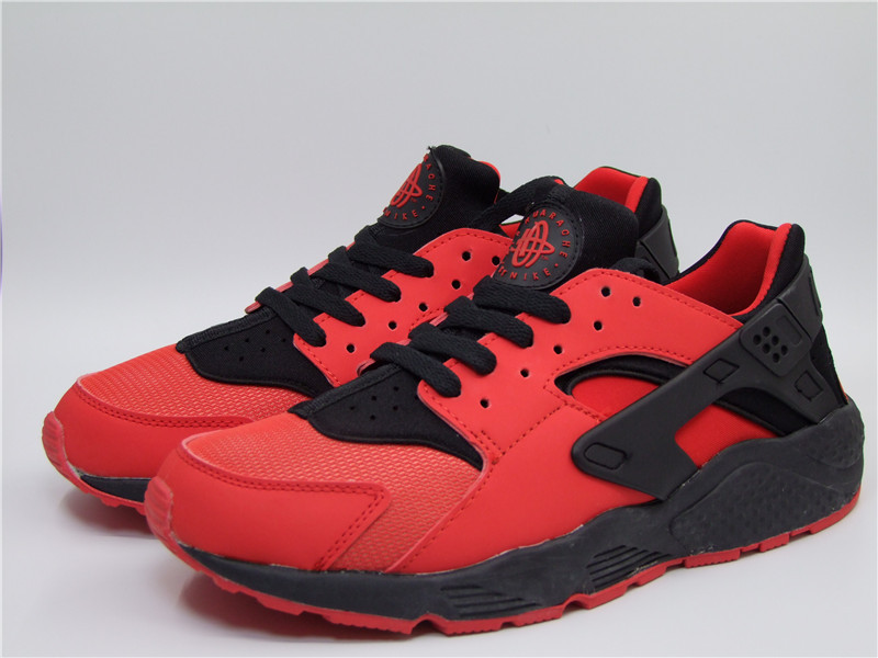 Nike Air Huarache 1 Red Black Shoes