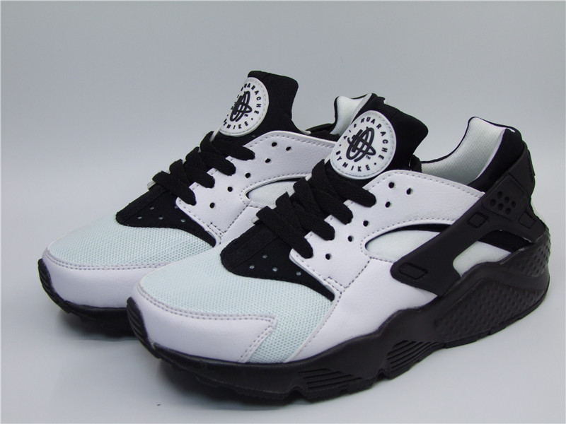 Nike Air Huarache 1 White Black Shoes