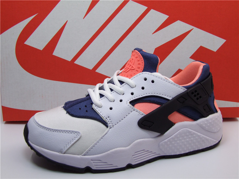 Nike Air Huarache 1 White Blue Orange Black Shoes