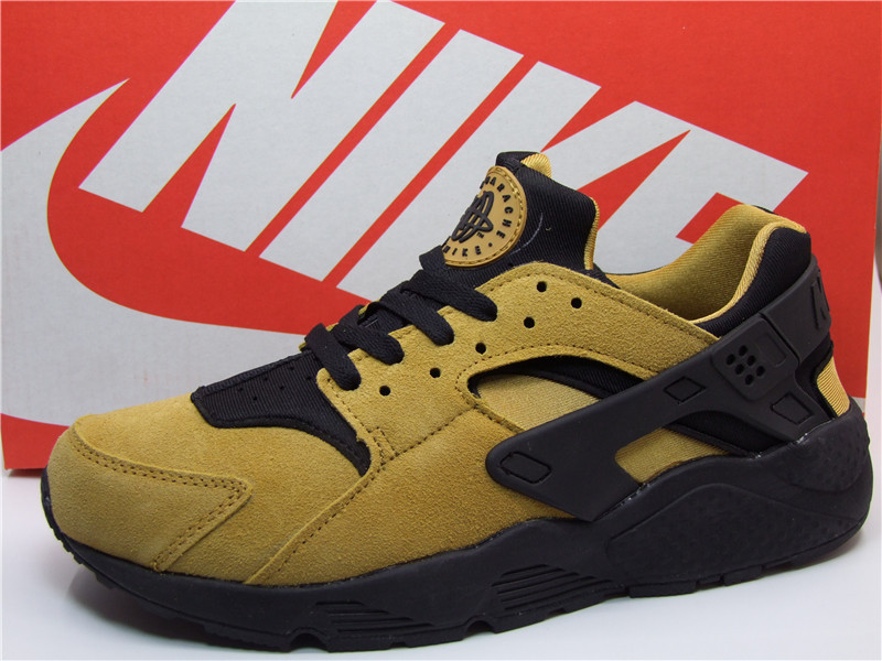 Nike Air Huarache 1 Yellow Black Shoes