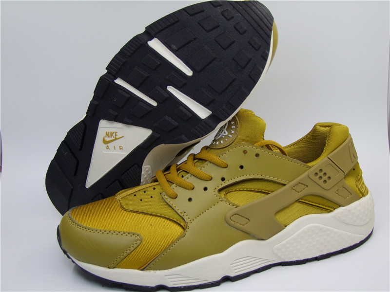 Nike Air Huarache 1 Yellow White Shoes