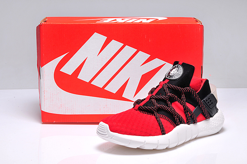 Nike Air Huarache 2 Red Black White Shoes