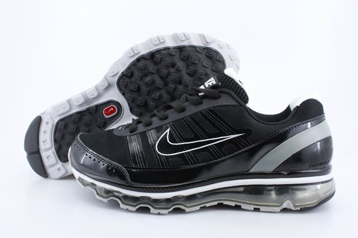 Men Nike Air Max 2009 2 Black Grey