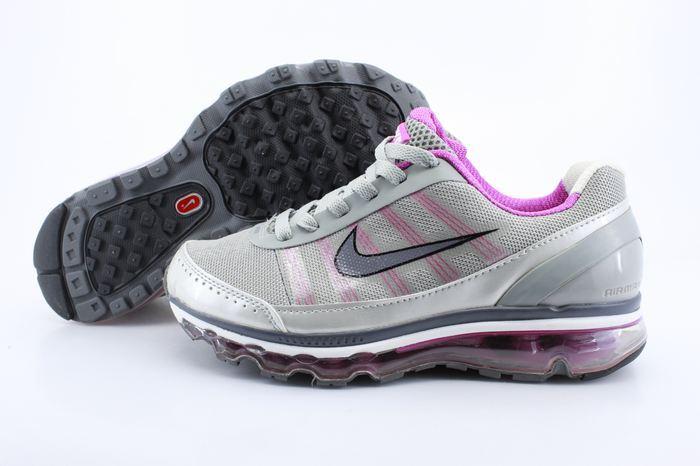 Women Nike Air Max 2009 2 Grey Silver Pink