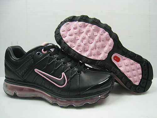 Men Nike Air Max 2009 3 Black Pink