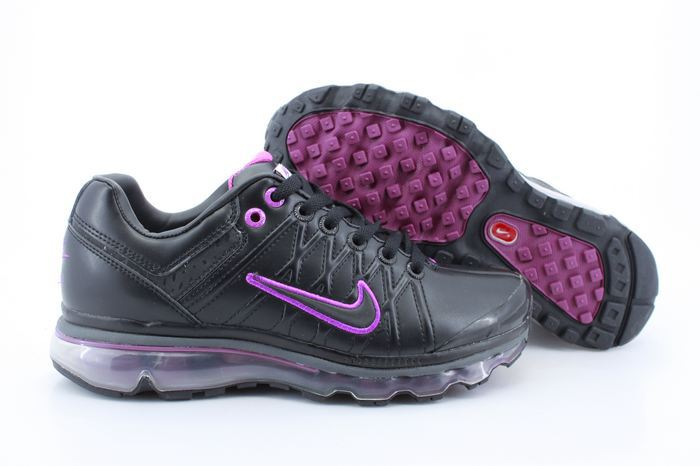 Men Nike Air Max 2009 3 Black Purple