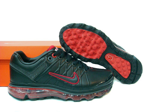 Men Nike Air Max 2009 3 Black Red