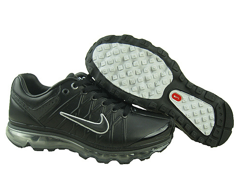 Men Nike Air Max 2009 3 Black White