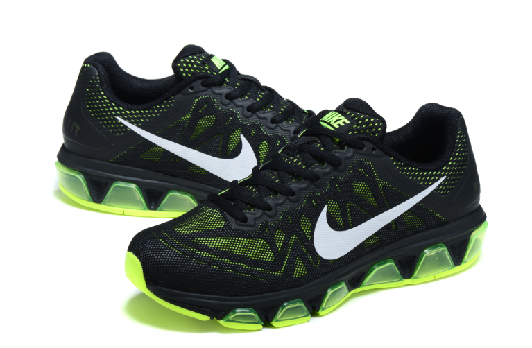 Nike Air Max 2010 20K Black Green Shoes