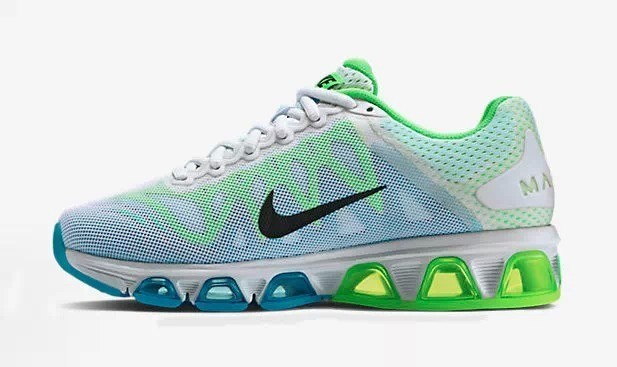 Nike Air Max 2010 20K White Blue Green Shoes