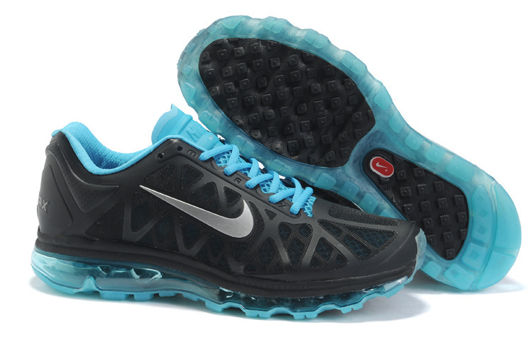 Nike Air Max 2011 Black Blue Silver