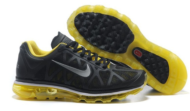 Nike Air Max 2011 Black Yellow Grey