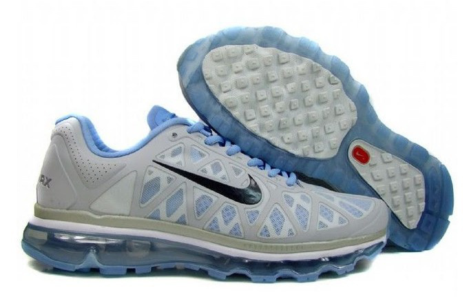 Nike Air Max 2011 Grey Blue Black Women Shoes
