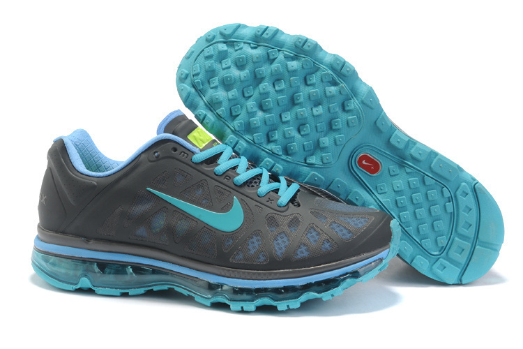 Nike Air Max 2011 Grey Blue Women Shoes