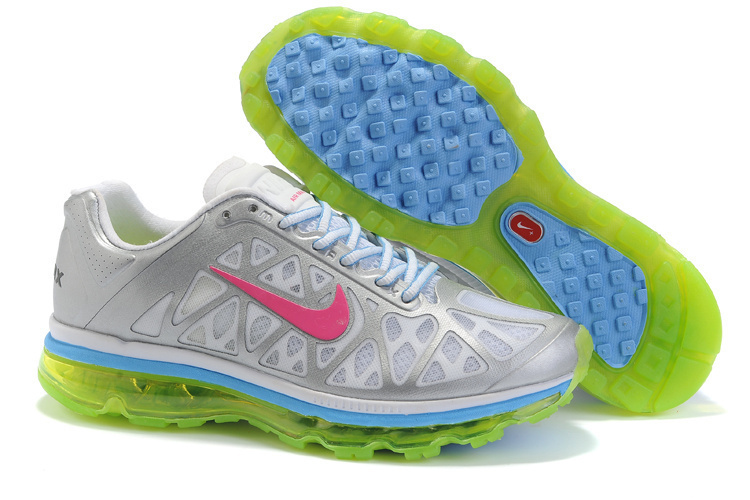 Nike Air Max 2011 Grey Silver Blue Pink
