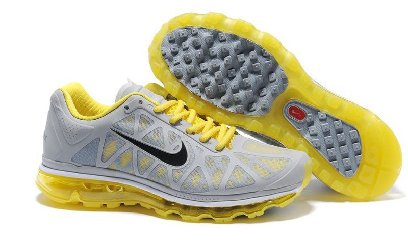 Nike Air Max 2011 Grey Yellow Black