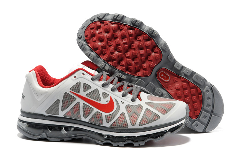 Nike Air Max 2011 Silver Red